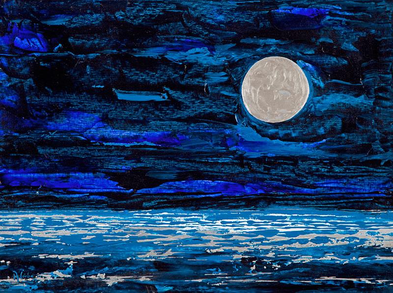 Notte di mare e luna