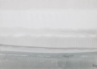 La pioggia e il mare