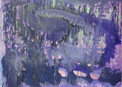 Foresta-pluviale,-2018,-smalto-su-tela,-70-x-70-cm