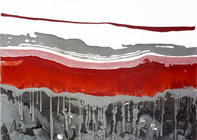 Grotta,-2018,-smalto-su-tela,-100-x-100-cm